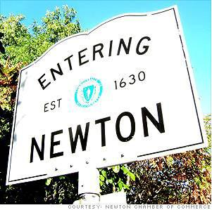 Newton named one of Top 3 Places to Live