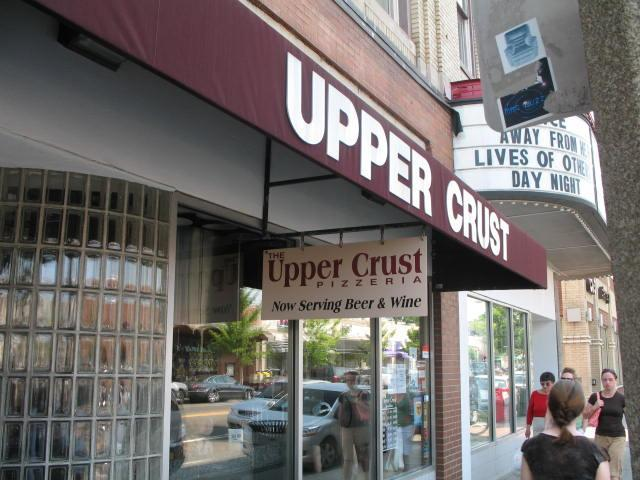 The Upper Crust's Brookline, MA location