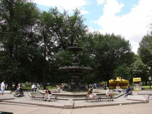 Brewer's Fountain located in Boston Common, Beacon Hill Real Estate