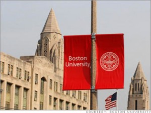 Boston University in Boston MA