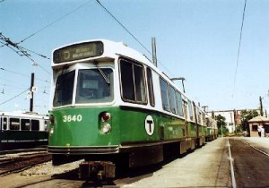 MBTA Green line is the life line of Brookline