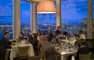 Fine dining at the Top of the hub near your Boston condo!